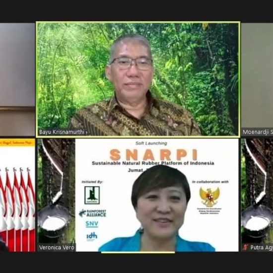 Soft-Launching Sustainable Natural Rubber Platform of Indonesia (SNARPI)